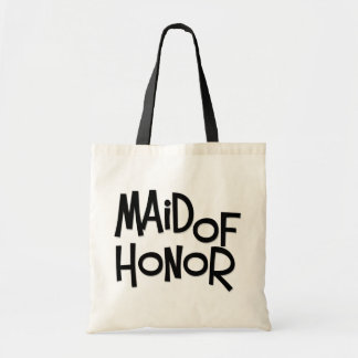 Hipster Maid of Honor Tote Bag