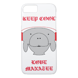 Hipster manatee phone casing iPhone 7 case