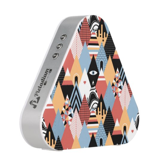 Hipster modern mystic triangle geometric pattern