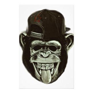 Hipster Monkey 14 Cm X 21.5 Cm Flyer