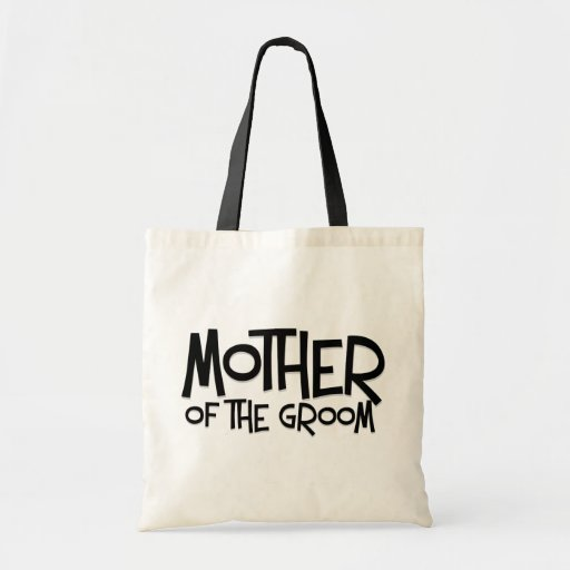 Hipster Mother of the Groom Budget Tote Bag