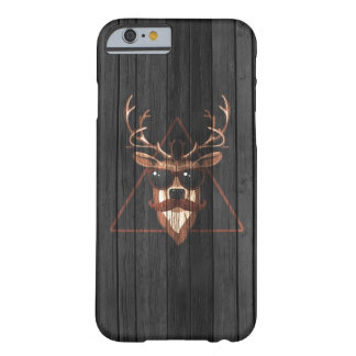 Hipster Moustache Deer - Dark Edition Barely There iPhone 6 Case