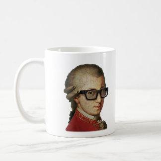 Hipster Mozart Mugs