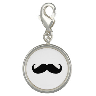 Hipster Mustache Charm