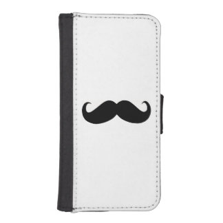 Hipster Mustache iPhone 5/5s Wallet Case