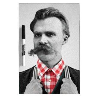 Hipster Nietzsche Dry Erase Board