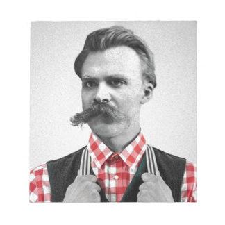Hipster Nietzsche Notepad
