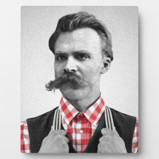 Hipster Nietzsche Plaque