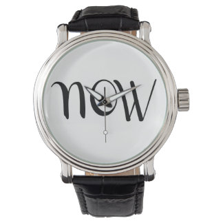 "Hipster ""Now"" Watch - YOLO!"