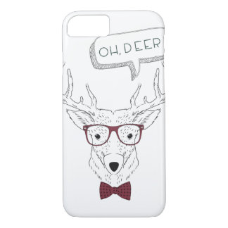 Hipster Oh, Deer Iphone Case