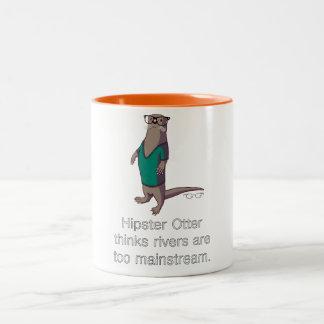 Hipster Otter Mug