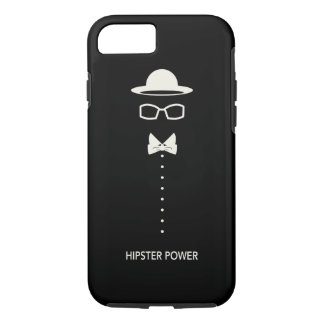 """""""Hipster Power"""" iPhone 7 Case"""