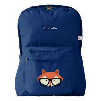 Hipster Red Fox Backpack