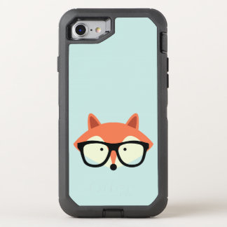 Hipster Red Fox OtterBox Defender iPhone 7 Case