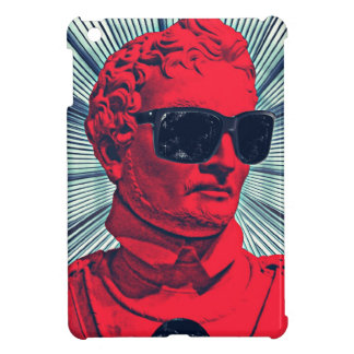Hipster red statue iPad mini case