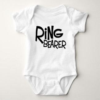 Hipster Ring Bearer Baby Bodysuit