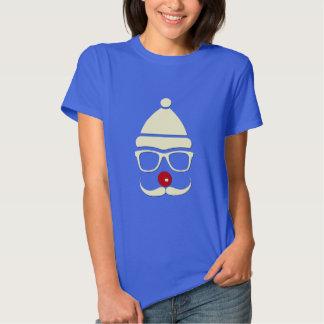 Hipster Rudolph Mustache Women's T-shirt