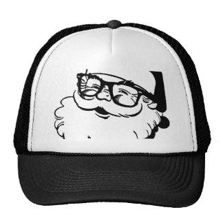 hipster santa cap