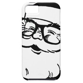 hipster santa iPhone 5 case