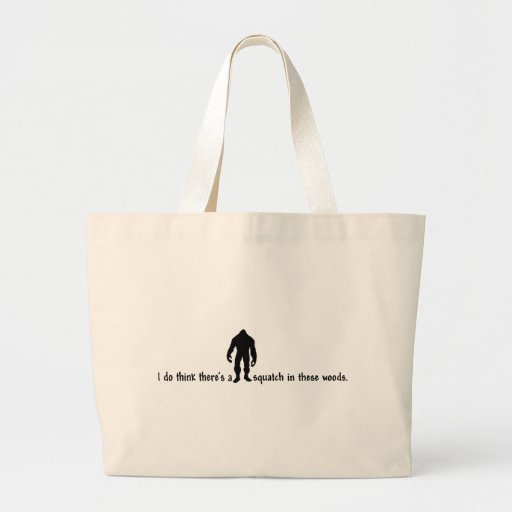 Hipster SQUATCH IN THESE WOODS - Finding Bigfoot Bags