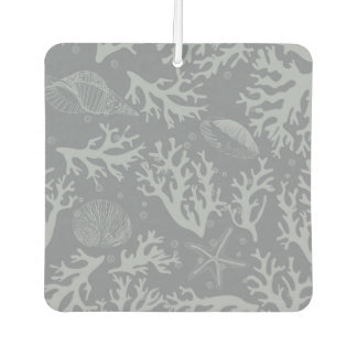Hipster Style Coral Reef Car Air Freshener