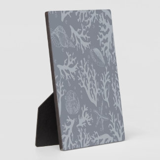 Hipster Style Coral Reef Display Plaque
