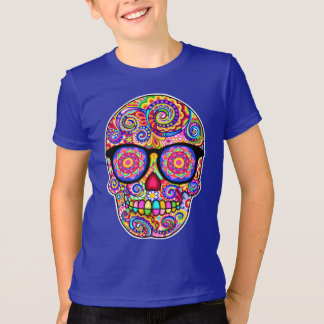 Hipster Sugar Skull Shirt - Day of the Dead