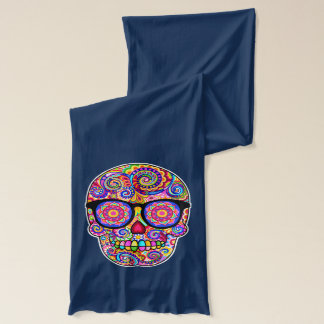 Hipster Sugar Skulls Scarf - Day of the Dead