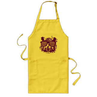 Hipster Tiger Long Apron