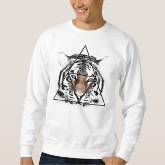 Hipster Tiger Pullover Sweatshirts