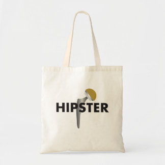 HIPSTER BUDGET TOTE BAG