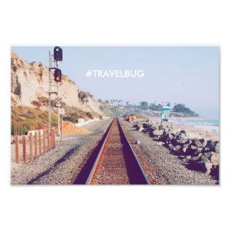 Hipster Travel Poster Photo Art