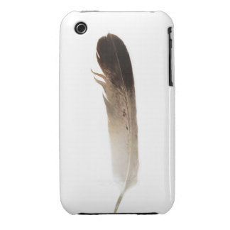 Hipster tribal bird feather rustic chic photograph iPhone 3 cases