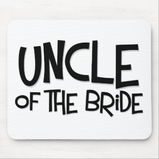 Hipster Uncle of the Bride Mouse Pads