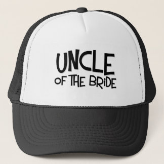 Hipster Uncle of the Bride Trucker Hat