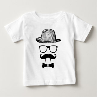 Hipster Vampire Gentleman Baby T-Shirt
