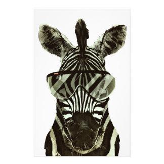 Hipster Zebra 14 Cm X 21.5 Cm Flyer