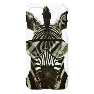 Hipster Zebra iPhone 7 Case