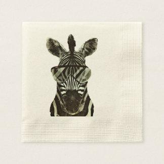 Hipster Zebra Paper Serviettes
