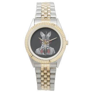 Hipster Zebra Wristwatch