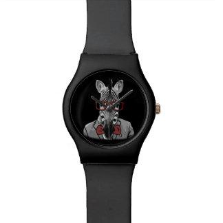 Hipster Zebra Wristwatches