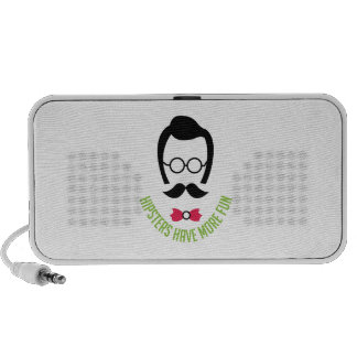 Hipsters Have Fun Mp3 Speaker