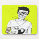 hipsters not dead mousemats