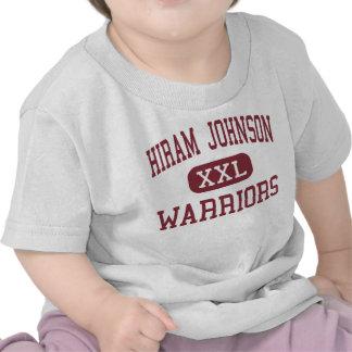 Hiram Johnson - Warriors - High - Sacramento Tshirts