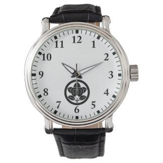 Hirone orange wrist watch
