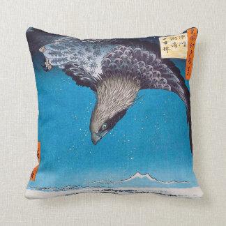 Hiroshige Eagle Pillow