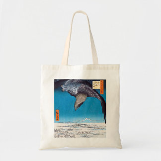 Hiroshige Eagle Tote Bag
