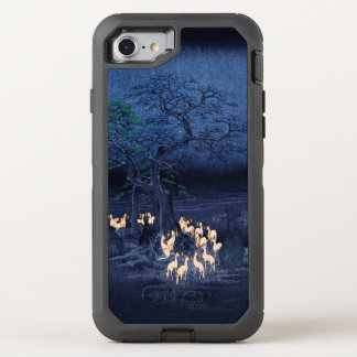 Hiroshige New Year's Eve Foxfires at the Changing OtterBox Defender iPhone 7 Case