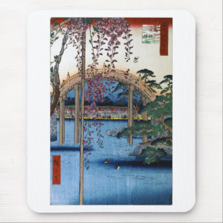 Hiroshige, place of interest Edo hundred scene Mouse Mat
