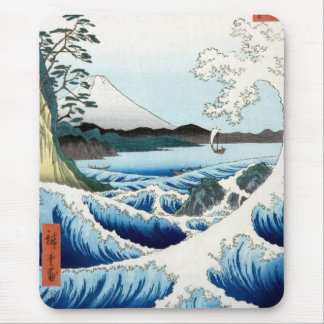 Hiroshige Sea and Mt. Fuji Mouse Mat